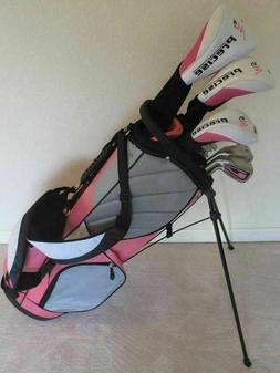 NEW Petite Womens Golf Club Set Driver Wood Hybrid Irons Put