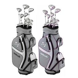 NEW Lady Edge by Tour Edge Complete Golf Set w/ Driver, Wood