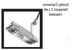 New Scotty Cameron LEFT HANDED Putter- 3 to choose from- Fre