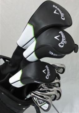 NEW Mens Callaway Golf Set Driver, Fairway Wood, Hybrid, Iro