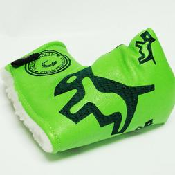 NEW Customshop 911 Putter Head Cover  DOGGY LIME Green Fit B