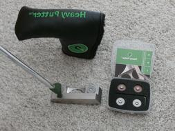New RH Heavy Putter Model Tour A2 with Head Cover & weight k