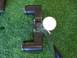 NEW!! Cure RX1 Offset Putter 34 Inch Black w/cover/weight ki