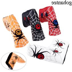 New Spider With Silver Web Golf Putter Cover <font><b>Headco
