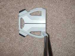 NEW TaylorMade SPIDER X CHALK/WHITE PUTTER-with SUPER STROKE