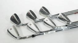 New! WILSON STAFF TOUR BLADE FORGED IRONS  w/ TX-105 Steel R