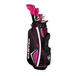 New Callaway Strata 11-Piece Womens Complete Golf Club Set R