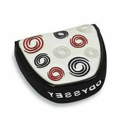 NEW ODYSSEY SWIRLS MALLET putter headcover 2 ball fang heel