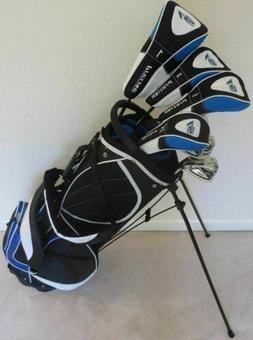 "NEW Tall Mens Golf Clubs Set +1"" Driver, Woods, Hybrid, Iron"