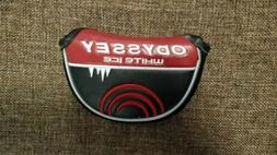 NEW ODYSSEY WHITE ICE MALLET PUTTER COVER - GOLF HEADCOVER B