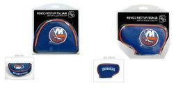 New York Islanders NHL Blade or Mallet Putter Golf Club Head