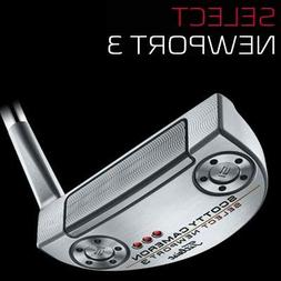Scotty Cameron Newport 3- Left Handed - 34 inches