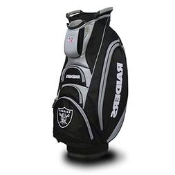 Team Golf NFL Oakland Raiders Victory Golf Cart Bag, 10-way