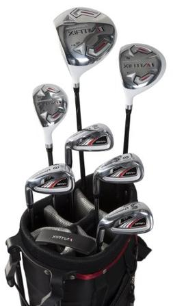 Pinemeadow Golf Men's Nitrix Pro Set Driver, 3 Wood, Hybrid,