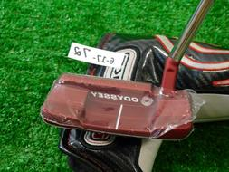 """Odyssey O-Works Red 1W S 33"""" Putter with Headcover New"""