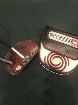 "Odyssey O-Works Red Marxman 35"" Putter with Headcover New"