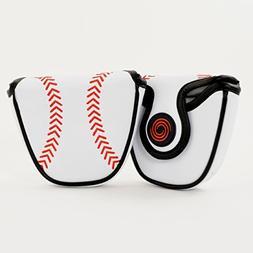 Callaway Odyssey Baseball Mallet Putter Headcover, Heel Shaf
