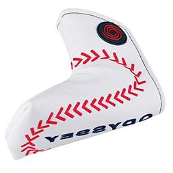 Odyssey Golf- 2015 Sport Blade Head Cover Baseball