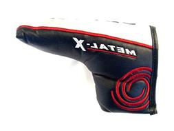 NEW Odyssey Metal X Blade Boot BLACK/SILVER/RED Putter Headc