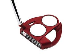 Odyssey O-Works Red 2-Ball Fang Slant Putter, 35 in