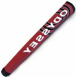 NEW Odyssey Oversize/Jumbo Red/Black Putter Grip