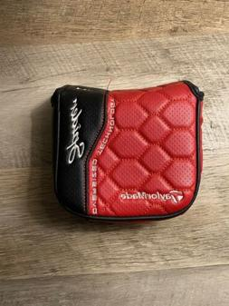 TaylorMade OS Spider Putter Head Cover Red And Black