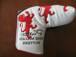 Piretti Putter Cover-- Lion  Red/Black  New