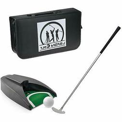 Portable Golf Putter Travel Practice Putting Set with Case I