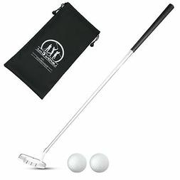 LEAGY Best Portable White Zinc Alloy Golf Right Hand Wedge a