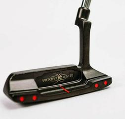 Black Widow Golf Putter 100% Fine Milled Putter  34, 35 Inch