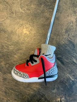 Jordan Putter Cover. Jordan 3 Red Cement. Fits Blade Putters