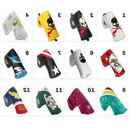 Putter Cover Headcover Magnetic for Scotty Cameron Blade Sty