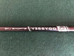 "RH Odyssey Stroke Lab Double Bend Putter 36"" Shaft, Raw Le"