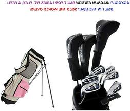 AGXGOLF Ladies Right Hand Magnum Complete Golf Club Set w/St