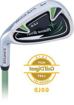 Paragon Rising Star Kids Junior Dual Wedge Ages 8-10 Green /