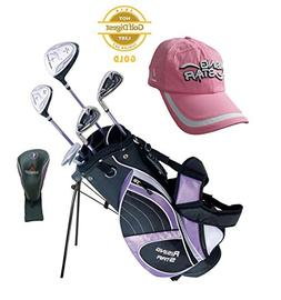 Paragon Rising Star Girls Kids Golf Clubs Set / Ages 8-10 La