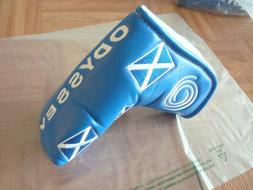 ODYSSEY SCOTLAND BLADE PUTTER HEADCOVER - SCOTTISH FLAG - MA