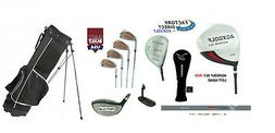 Senior Men's Left Hand Tour Golf Set Driver+3 Wood+Utility C