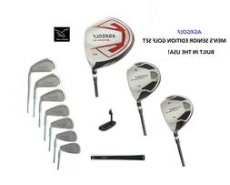SENIOR MEN'S TALL LEADERBOARD GOLF CLUB SET 460 DRIVER+3 &5W