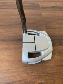 """TaylorMade Spider Mini Putter silver, Right-Handed 35"""" Gol"""