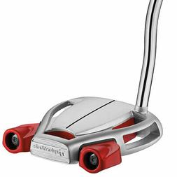 TAYLORMADE SPIDER TOUR PLATINUM DOUBLE BEND PUTTER 2018- PIC