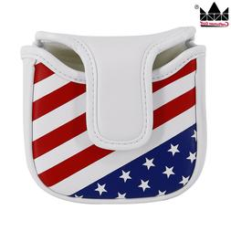 Square Mallet Putter Cover Golf Headcover For TaylorMade Spi