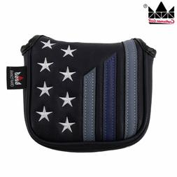 Stars & Stripes High-MOI Mallet Putter Head cover for Taylor