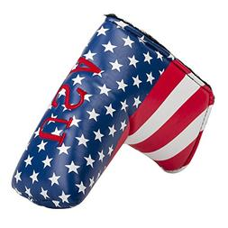 HIFROM(TM Stars and Stripes Golf Putter Head Covers Headcove