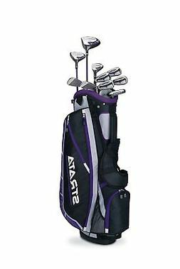 Callaway Women's Strata Plus 14-Piece Complete Golf Club Set