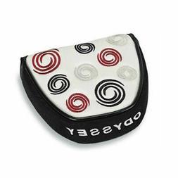 Odyssey Super Swirl Mallet Putter Head Cover - White