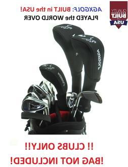 "TALL +1.5"" MENS LEFT HAND COMPLETE GOLF SET wDRIVER+5WD+4HY+"