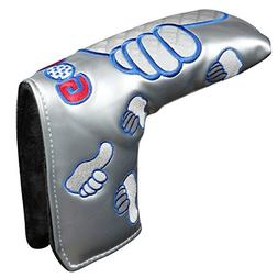 Thumb PU Golf Putter Headcover For Blade Style Golf Club Hea