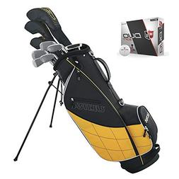 Wilson Ultra Mens 13 Piece Left Handed Golf Club Package Set
