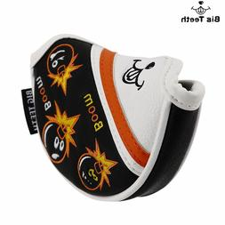 US Ship Small Mallet Putter Cover Headcover for Mid Putters